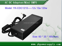 120W AC adapter 12V 10A with UL FCC certification