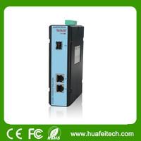 1 10/100 Base -2 10/100 Base T(X) single mode SC, dual fiber 20 km Media Converter/copper to fiber media converter