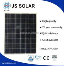200 watt A grade solar panel manufacturer price per watt