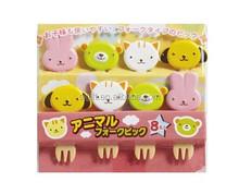 Bento Pick alimentaire animaux conception fourche pour enfants