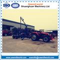 Pto / GAS / de madera del motor Diesel cargadora de registro de la máquina de la grúa con remolque in china