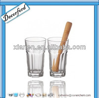 Round Fancy Bulk drinking water glass cup