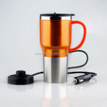 Home office high quality colourful 18 8 stainless steel Electric Automotive Vacuum Flasks & Thermoses drinkware