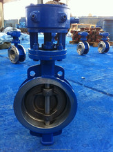 D373F wafer type rubber sealing butterfly valve made by Yu Da in China