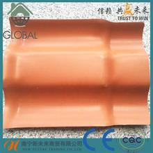 Plastic 25 years guarantee synthetic spanish roof tile with low price