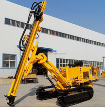50m depth downhole drilling rig machine for mining and quarry with dust collector