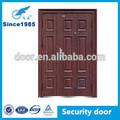 barato de descuento la seguridad exterior de doble puerta de acero