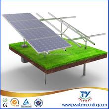 Solar energy system solar power system, screw pile or rammed post base solar power system, solar panel mounting system