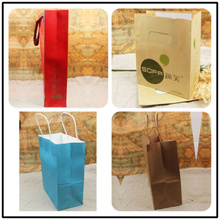 Hold op well shopping paper garment bag with recycled paper