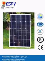 High Efficiency SUNPOWER 70W Mono Solar Panels,70W Solar Panels/Modules with SUN POWER CELLS