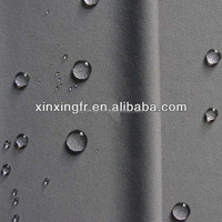high performance breathable polyester cotton waterproof raincoat fabric