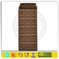Toblerone silicone chocolate bar mould with cover