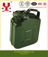 5L portable metal gasoline barrel