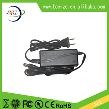 double cable desktop power adapter 12v 2a 24W CCTV power supply