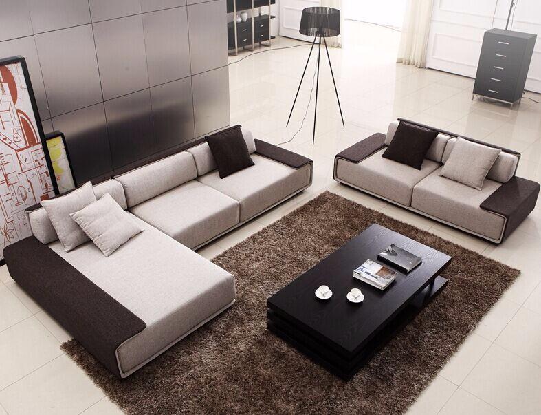 2016 italien canap tissu meubles u en forme de coin - Canape en forme de u ...