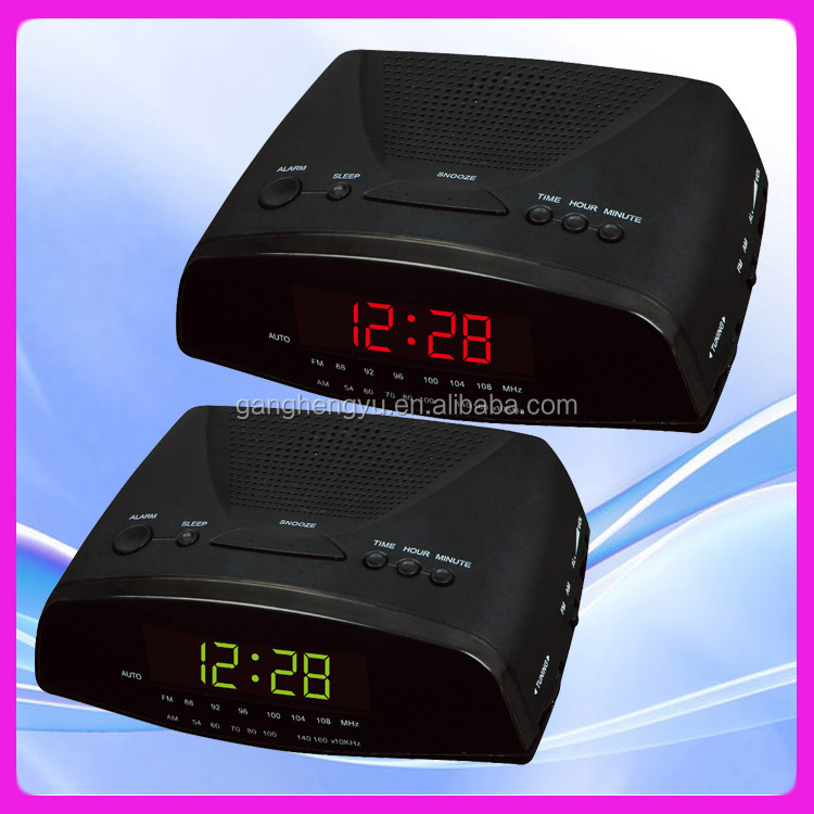 radio alarm clock am fm talking clock led radio clock buy radio clock funny. Black Bedroom Furniture Sets. Home Design Ideas