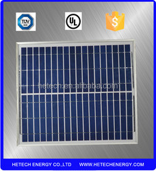 15W poly solar panel PV module and small 12V solar panel