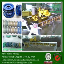 Edge Polishing Machine MBJ-10D for granite countertops edge profiling and polishing, Wanlong Brand, Simple Cheap Polisher