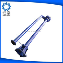 Pipe-type non-clogging sewage electric submersible water pump price from factory