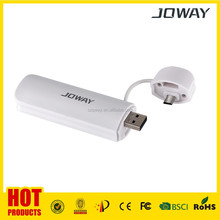 2800mAh Power Bank Travel Charger External Battery Charger Pack .