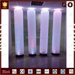 2015 Attractive design colorful light inflatable columns