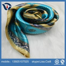 2015 New summer spring printed voile scarf for women