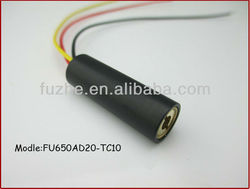FU650AD20-TC10 650nm red Laser Diode Module TTL modulation