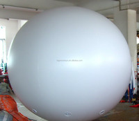 big outdoor inflatable advertising balloon for sale / giant white balloon