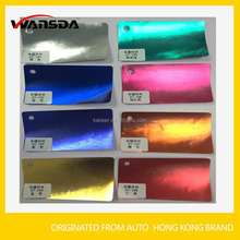 Colored Brushed 1.52*20M Hairline And Plating Auto Full Body Car Wrap PVC Adhesive