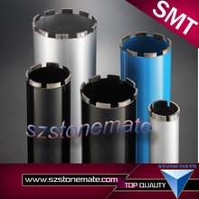 Assembly type Diamond sample tip core drill bit