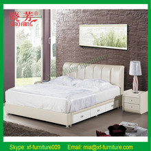 2015 Newest luxury European style double bed designs