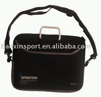 """15"""" Fake neoprene laptop bag with shoulder strap"""