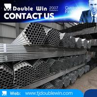 ASTM A53 Grade B ERW/BS 1387 Heavy 114mm Diameter Steel Pipe