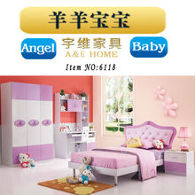 high quality teenage furniture/high gloss uv finish kids bedroom furniture/high gloss car bedroom set