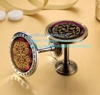 95*85mm Anti brass alloy decorative drapery hooks