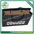 diseño personalizado de arte bolsa de papel bolsa de papel reciclado para ir de compras