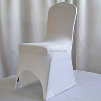 Banquet Spandex Chair Cover/Hotel White Lycra Chair Cover