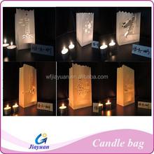 Luminaria paper bags flame retardant for Festive
