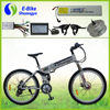 Hot selling factory price 26 inch folding mountain electric bicycle