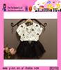 Europe Fashion Children Frocks Designs Children Girl Party Wear Western Dress