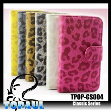 New style PU leather flip PC back phone cover for samsung galaxy note 3
