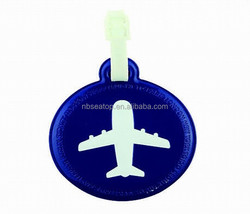airline travel leather luggage tags