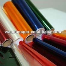 2015Newest Colored packing flower sand gifts ,transparent cellophane paper