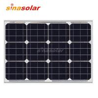 40w 12V High Efficiency Monocrystalline Solar Panel