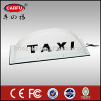 ABS Material Universal Taxi Top LED Light Taxi Top Lamp