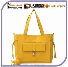 Fashion women canvas tote handbag from china