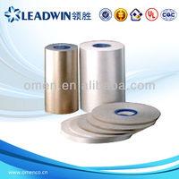 Calcinate muscovite Mica Tape With Film Single Side
