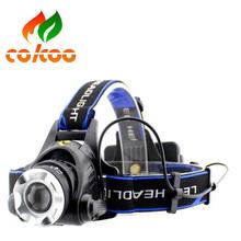 Newest warterproof headlamp portable headlamp miner head lamp LED head light