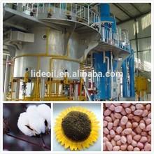 1-600 TPD precio de algodón semilla de máquina de extracción de aceite en planta