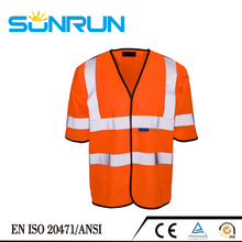 Comfortable &protective cheap visible at night safety vest